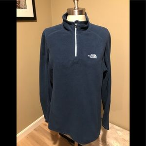 The North Face Women's 1/4 Zip Fleece Size XL EUC